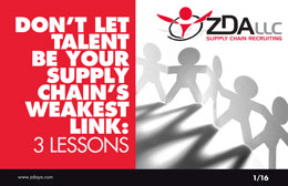 Don't Let Talent Be Your Supply Chain's Weakest Link: 3 Lessons