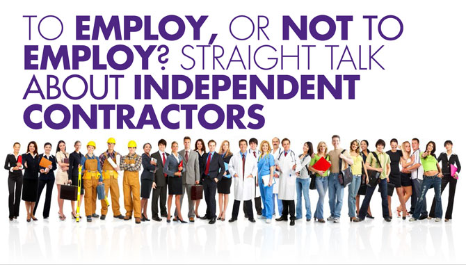 Work with contractors the right way!