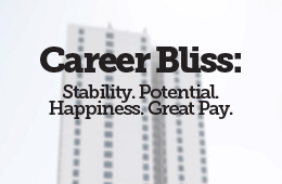 Career Bliss: Stability. Potential. Happiness. Great Pay.