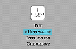 Innovo Staffing's Ultimate Interview Checklist