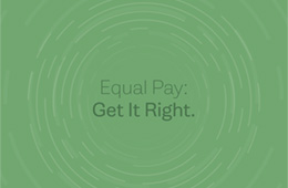 Equal Pay: Get It Right.