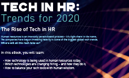Tech in HR: Trends for 2020