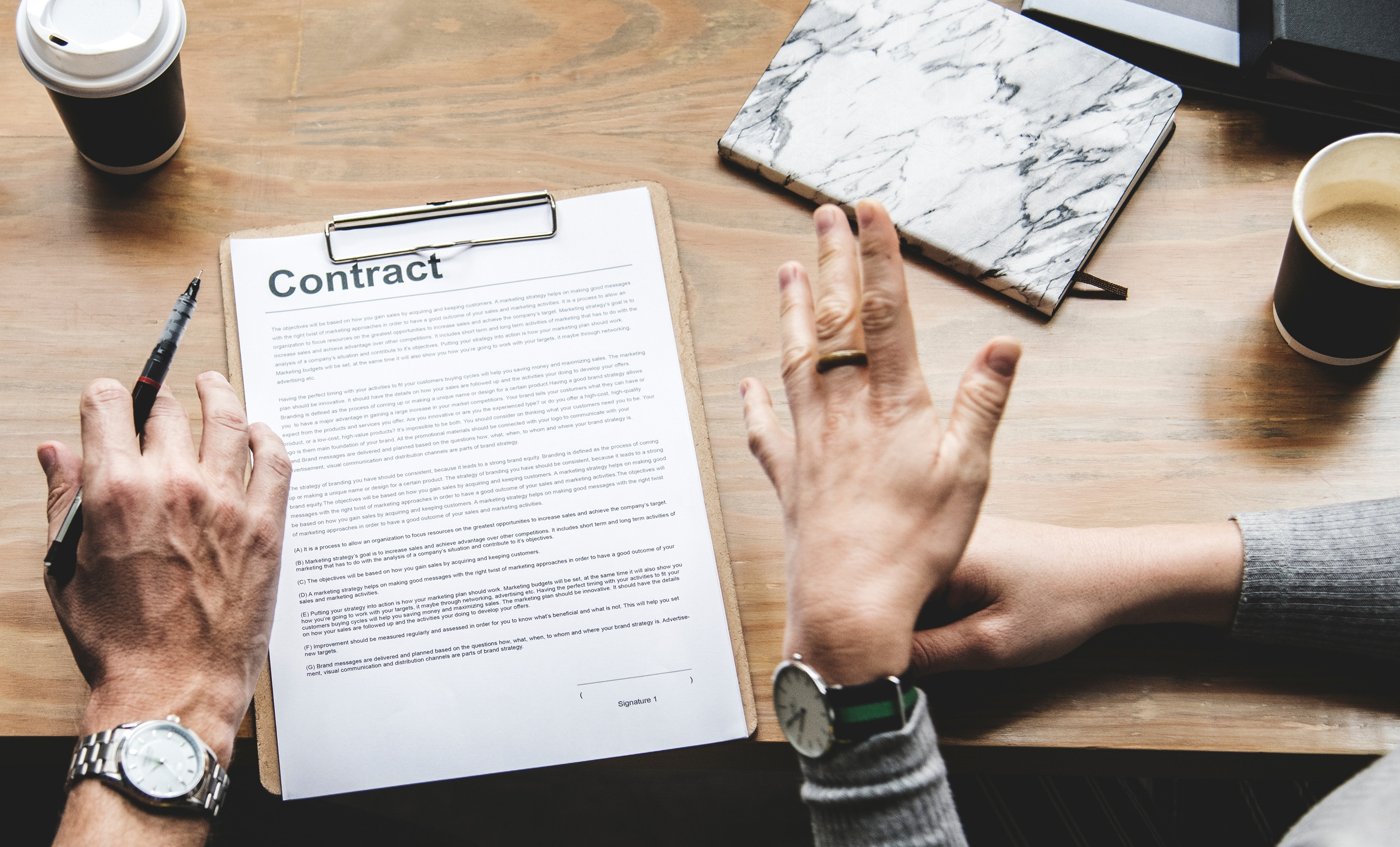 Contract or Direct: <br>What's the best way to get work done?