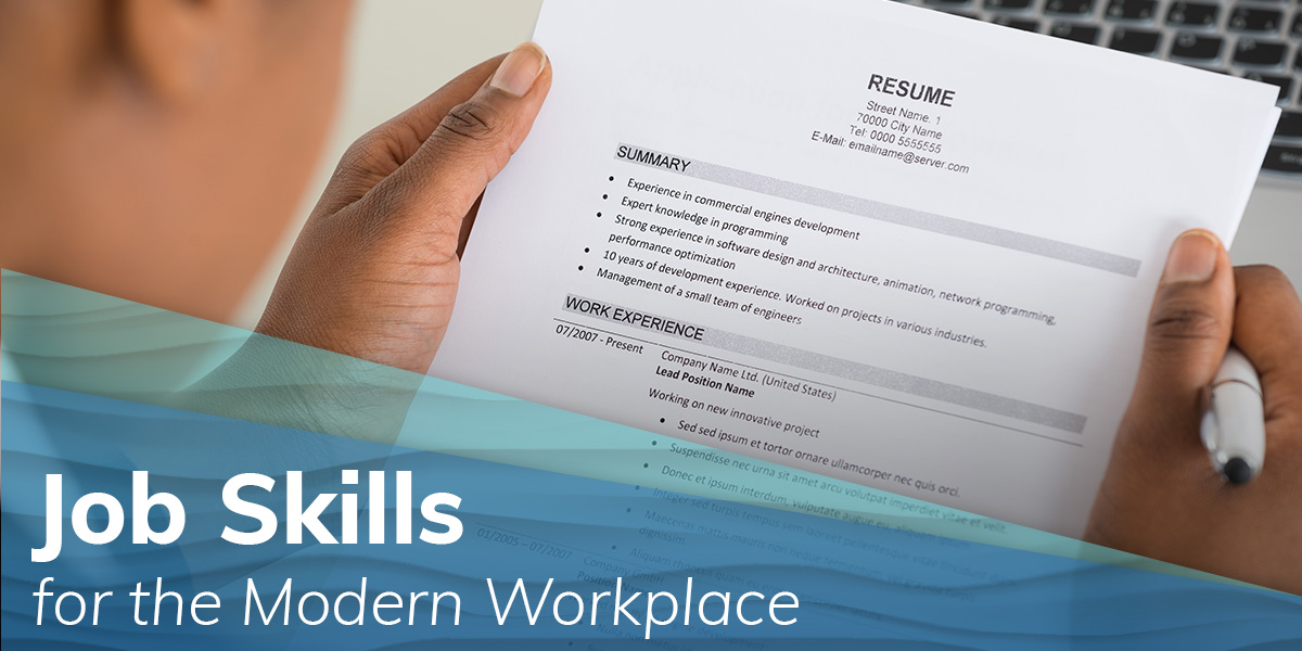 Job Skills for the Modern Workplace