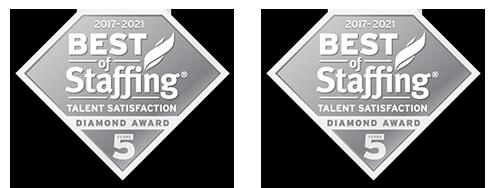 Best of Staffing Diamond Awards 2021